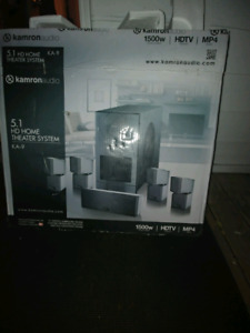 New never used suround sound speaker+ LG speakers