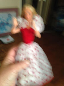 Vintage Valentine Barbie-over 35 yrs old very good condition