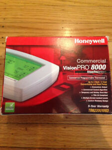 Honeywell commercial vision pro 8000 touchscreen thermostat