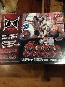 Tapout XT. DVD Set new in Box