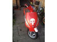 Piaggio zip 125cc 4 stroke