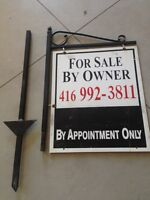 Sign to sell your house privately