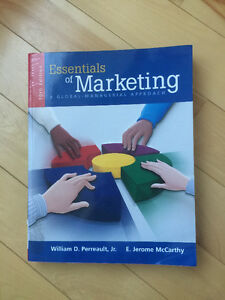 Essentials of Marketing: A Global Managerial Approach