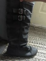 Size 9 grey boots