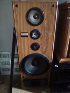 Pioneer Tower speakers