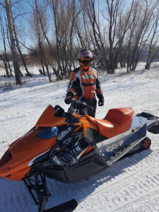 Looking to trade my Turbo 1100 Arctic Cat for a sport bike