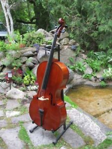 French Cello 4/4 - early 1900s