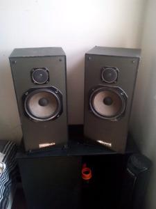Techsonics Speakers