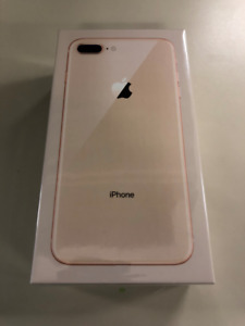 Unlocked iPhone 8 Plus 64GB Gold - New Sealed in Box