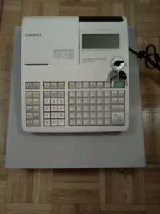 Casio PCR-T2200 Electronic Cash Register for sale