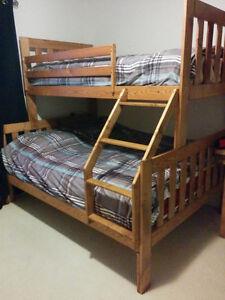 Lit superposé / bunk bed *** prix reduit ***