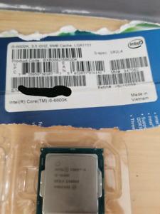 Processeur i5 intel 6600k z170/z270 compatible