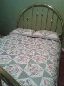 ***Beautiful Classic Brass Bed Frame-Queen Size*** Cambridge Kitchener Area image 2
