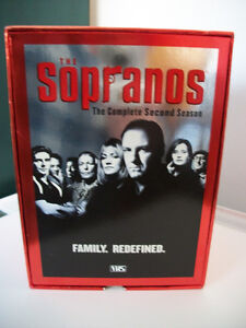 THE SOPRANOS THE COMPLETE SECOND SEASON VHS