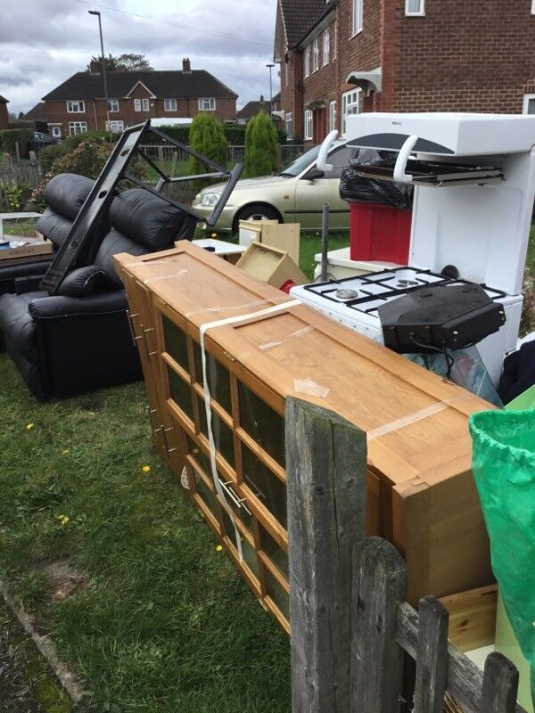 Cheap waste rubbish removal bin bags rubble Office clearances and shedsMetal a collection