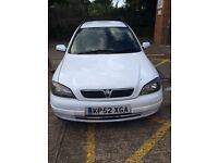 Vauxhall Astra van lowered 1.8