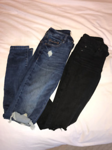 Garage Premium High Waisted Jeans: Size 0