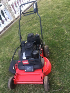 "Toro Turf Master 30"" self propelled commercial lawn mower"