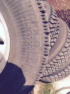 Nordic, good year, new p235/75R15