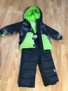 Winter jacket and snow pants for kids 2T