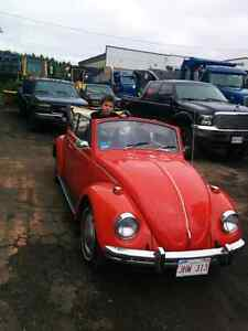1969 beetle AUTOMATIC convertible BRAND NEW MOTOR
