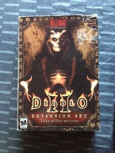 Diablo 2 original & expansion pack complete, 10 ea o5 for both