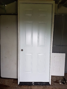 Metal Fire Rated Door with frame 32 inches