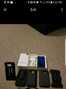 128 gb Samsung s6, Mophie charge case, slim case & otterbox