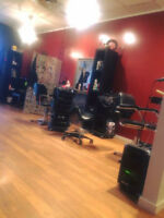 Hairdresser for chair rental/room for rent nail tech