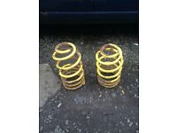 Mark 4 golf front lowering springs