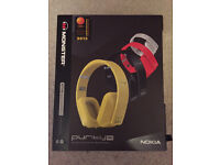 Noise Cancelling headphones in White (Monster Purity Pros) £100
