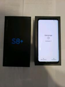 SAMSUNG S8+ NOIR 64GB UNLOCK AVEC 2 OTTERBOX