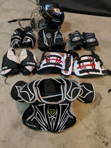 LACROSSE - JUNIOR PROTECTION KIT - GREAT DEAL!