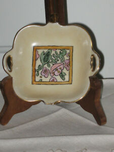 BEAUTIFUL LITTLE PIECE of HAND-PAINTED NORITAKE CHINA