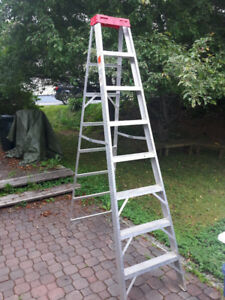 8 foot aluminium ladder