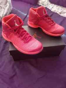 RED JORDAN SUPER FLY SHOES SIZE 6.5Y