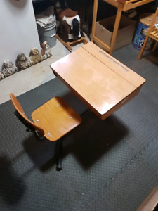 Antique Kids School desk