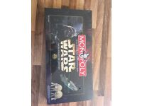 Board game special edition Star Wars monopoly board game 1998