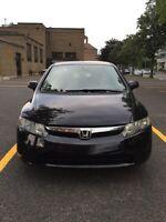Honda Civic 2007 Full équipé toit ouvrant/Bluetooth 160 000km