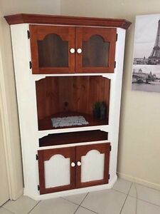 Colonial style timber Tv or kitchen cabinet Brassall Ipswich City Preview