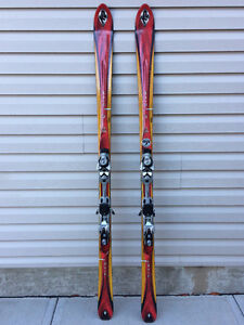 K2 Skis and Salomon Boots