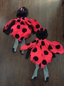 24 Month Carter Brand Ladybug Costumes