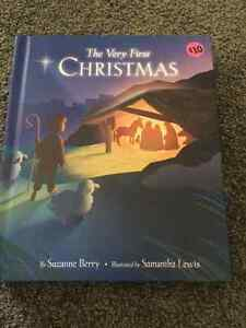 The Very First Christmas recordable book