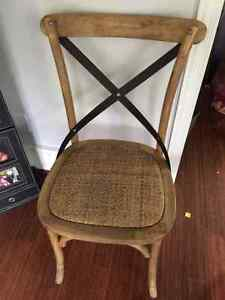15 x Wood Dining Room Chairs London Ontario image 1