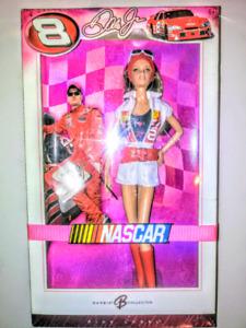 """Barbie Pink Label-""""NASCAR #08"""""""