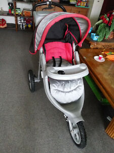 Graco jogger stroller Kitchener / Waterloo Kitchener Area image 3