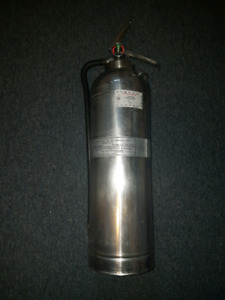 Pyrene 1982 rechargeable chrome fire extinguisher