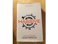 Signed by Professor Higgs. Massive: The Hunt for the God Particle