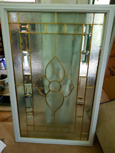 Front entrance glass door insert- great condition! Was $275!