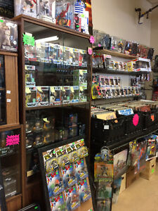 Collectable toys comics records games